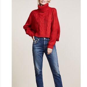 Jack By BB Dakota • Red Sweater oversized